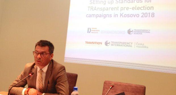 Ismet Kryeziu (KDI) zahajuje spolupráci | zdroj: TI