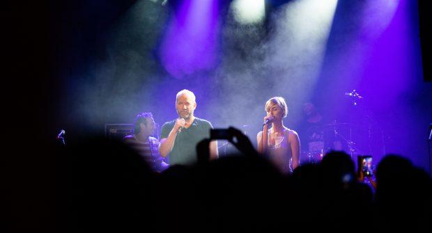 David Koller & Barbora Poláková | Koncert TI 20 let | foto: Filip Tondr
