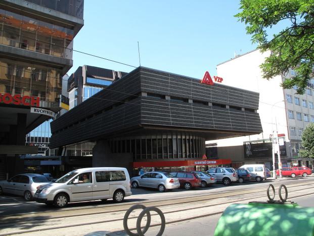 Budova VZP ČR v Praze na Vinohradech