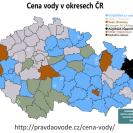 Ceny vody v ČR - header