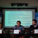 Právě začíná tisková konference Transparency International k aktuálním kauzám TI | zdroj: TI