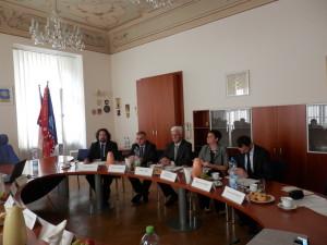 Delegace z Bosny a Hercegoviny v rámci projektu Podpora orgánů činných v trestním řízení při vyšetřování případů korupce