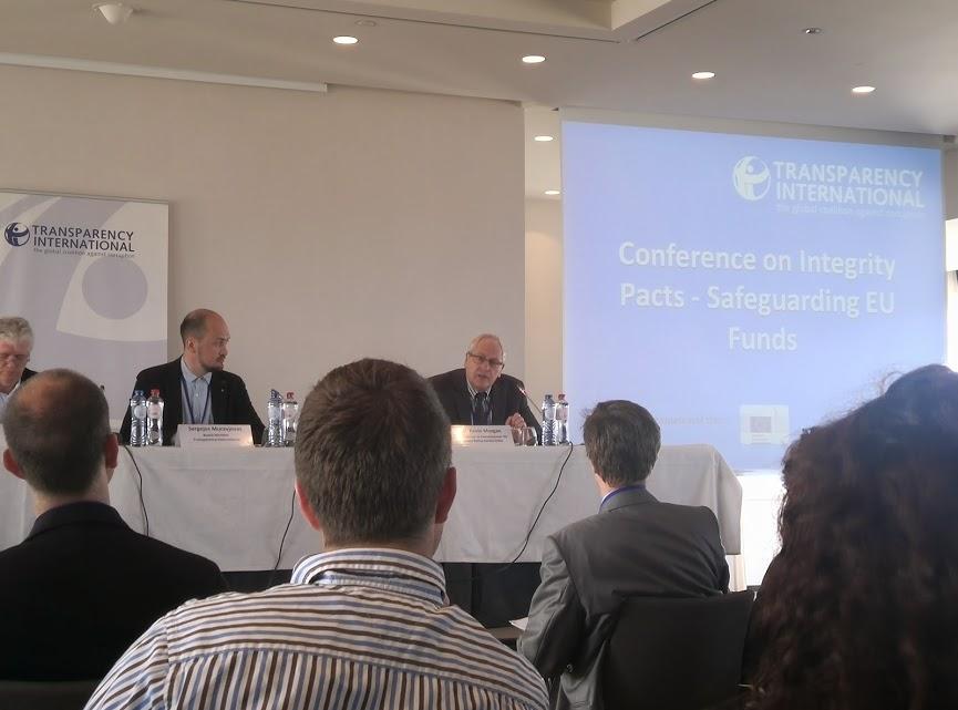 """Konference """"Pakty integrity – ochrana EU fondů"""""""
