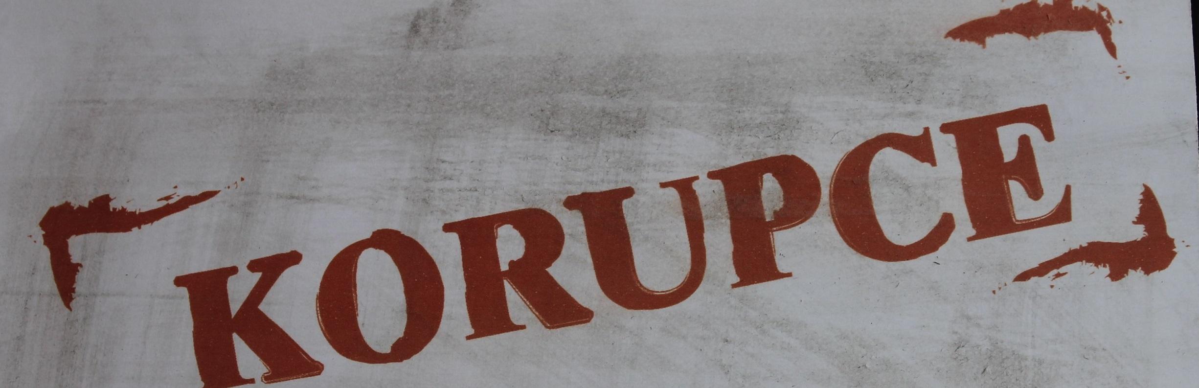 Korupce
