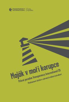 Maják v moři korupce - cover