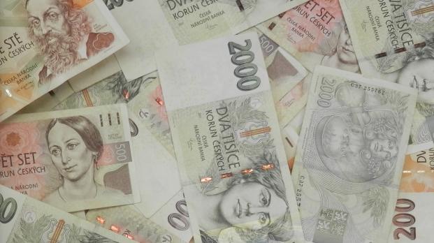 Peníze ilustrační foto