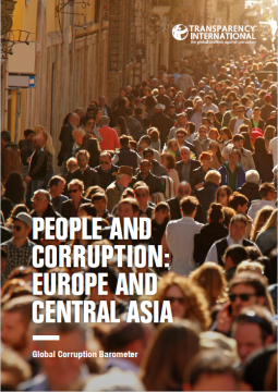 People and corruption - Europe and Central Asia 2016 - cover
