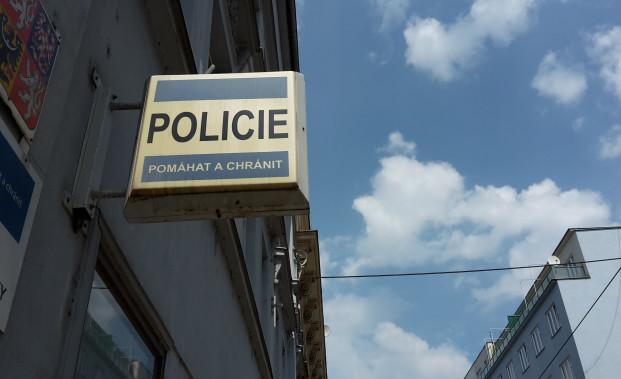 Policie ČR - štít a služebna