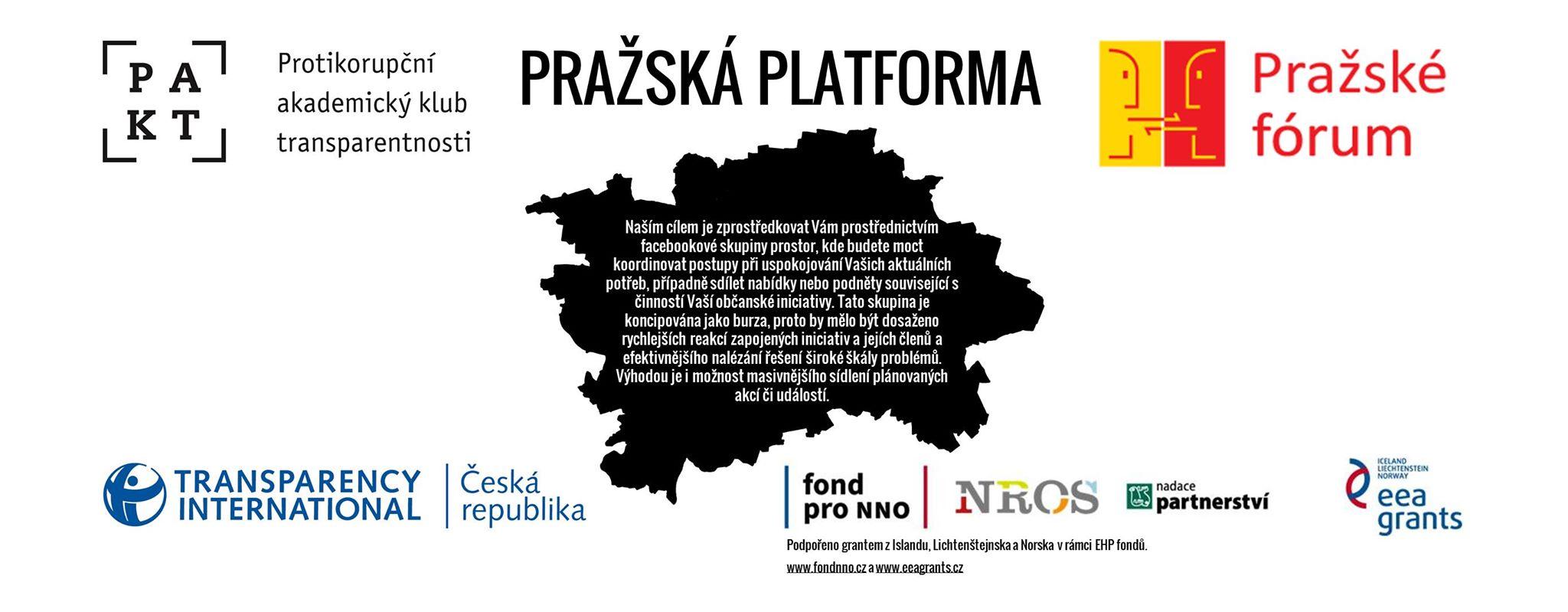 Pražská platforma - header