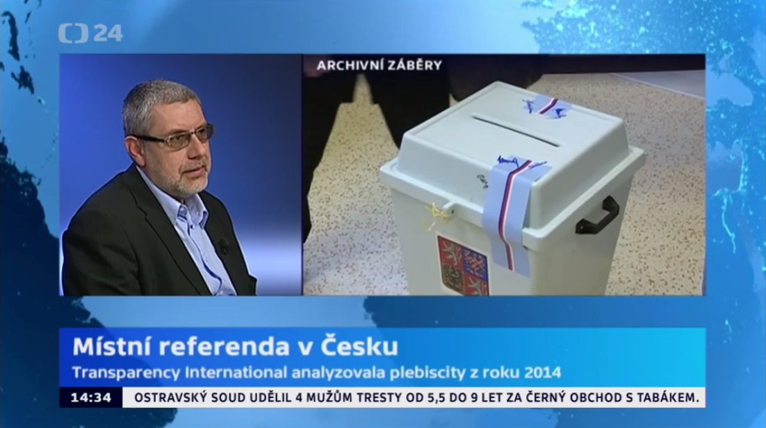 Radim Bures - Referenda CT24