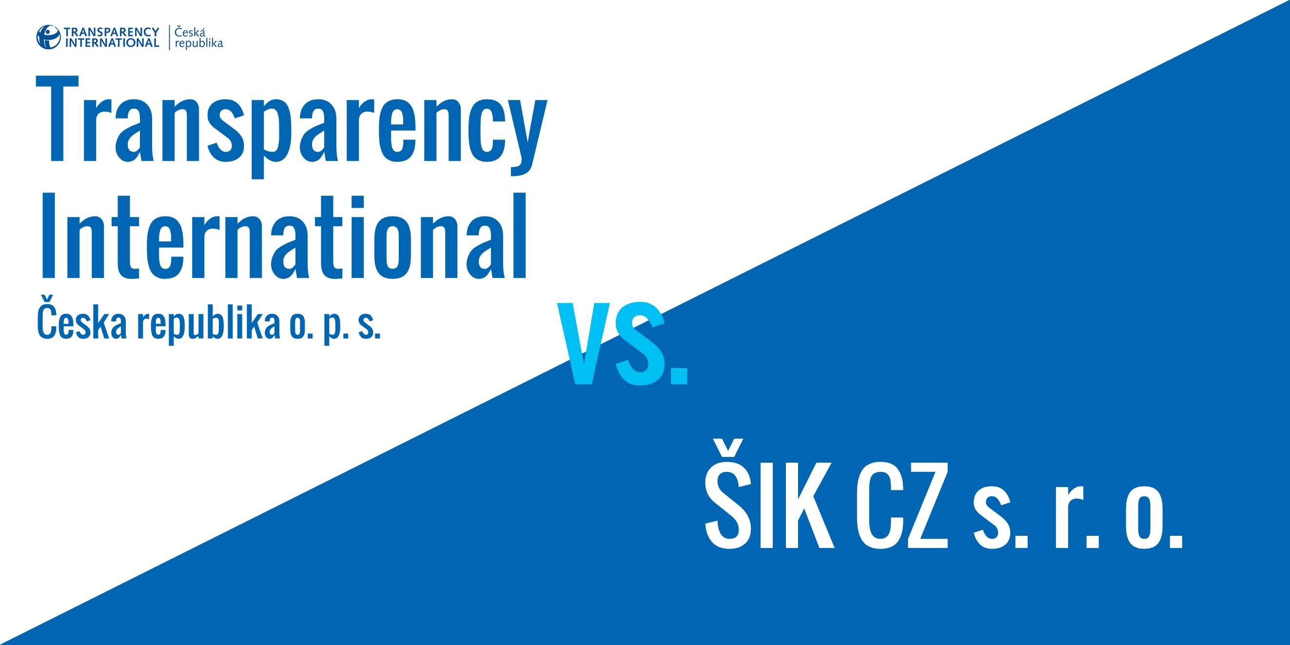 TI ČR vs. ŠIK CZ
