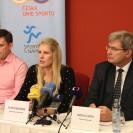Tisková konference k představení publikace Veřejné finance ve sportu | zdroj: TI