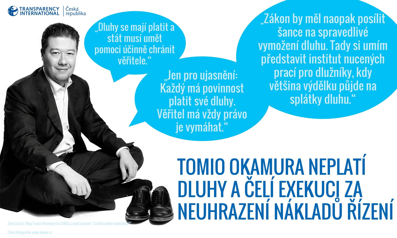Tomio Okamura - Exekuce