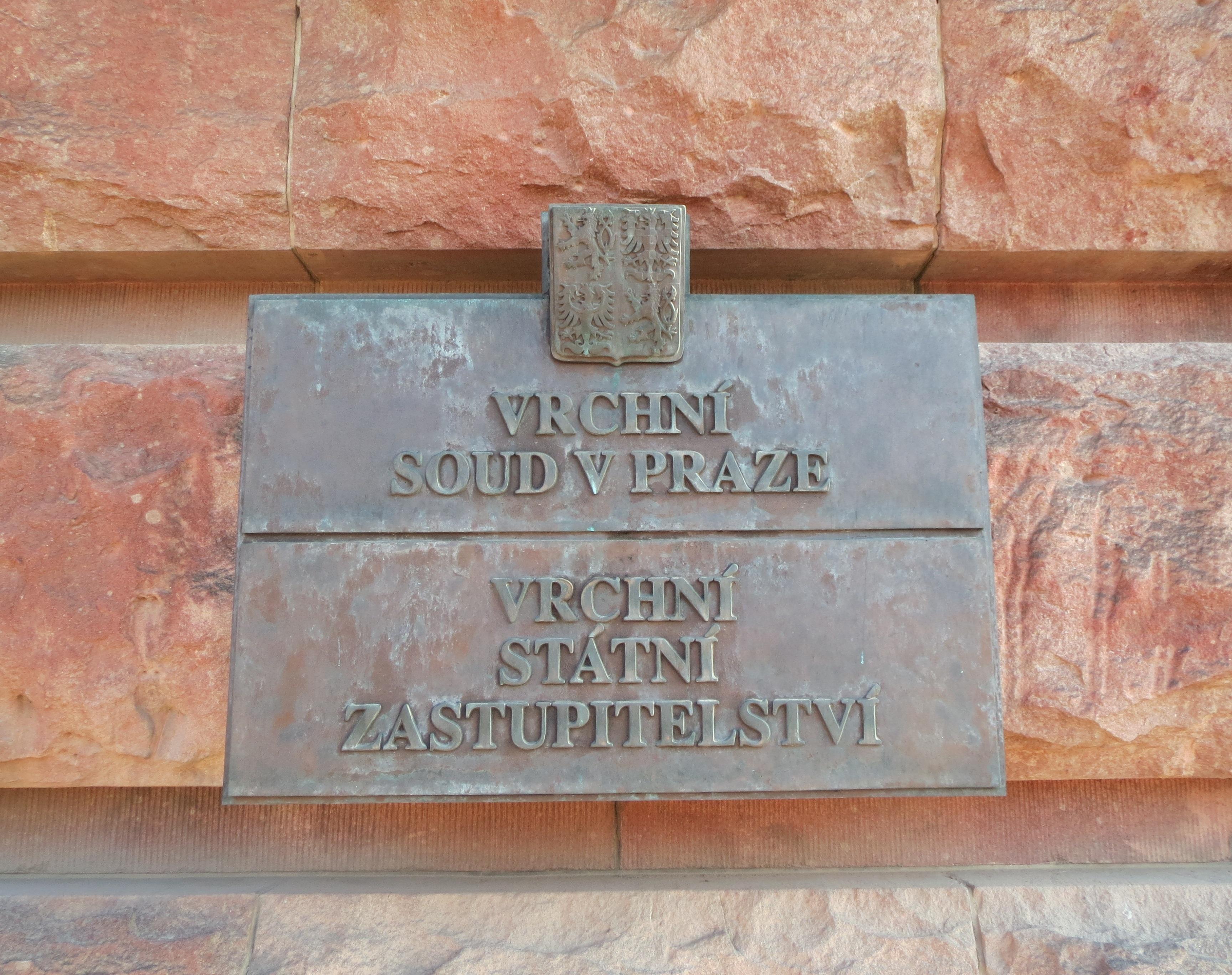 Vrchní státní zastupitelství a Vrchní soud - Praha