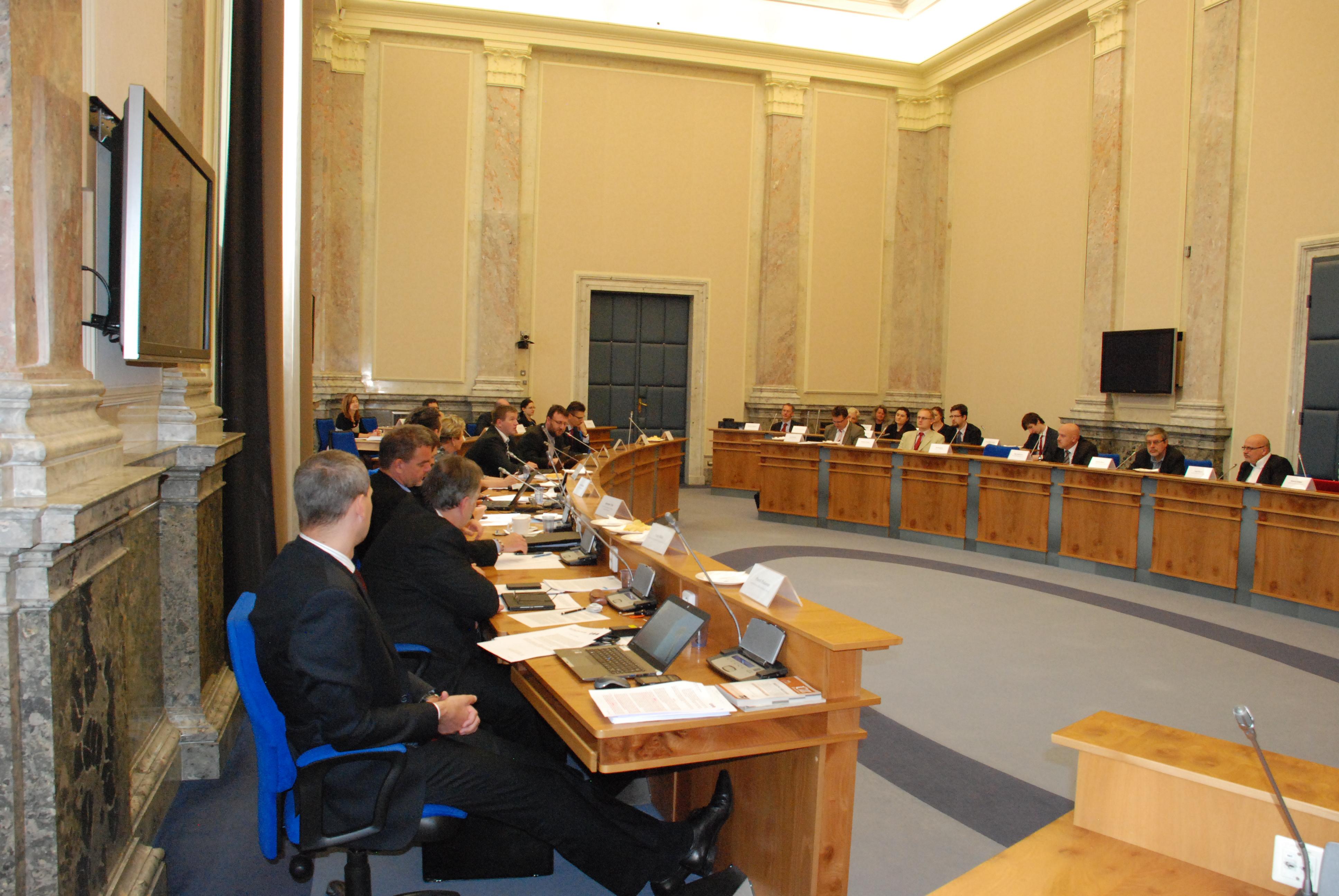 Zasedání Rady vlády pro koordinaci boje s korupcí